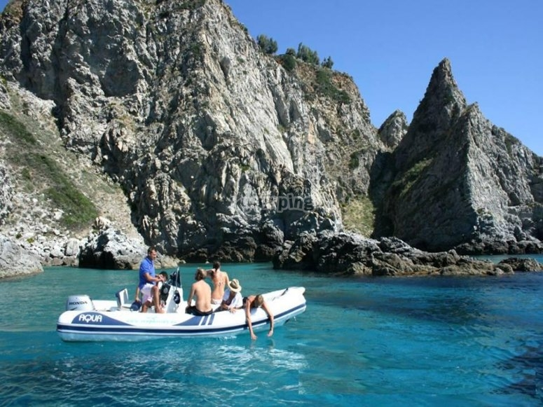 Excursion by dinghy