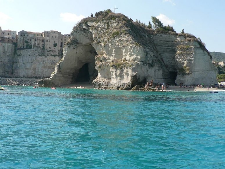 Tropea from the sea