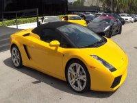 Lamborghini gialla