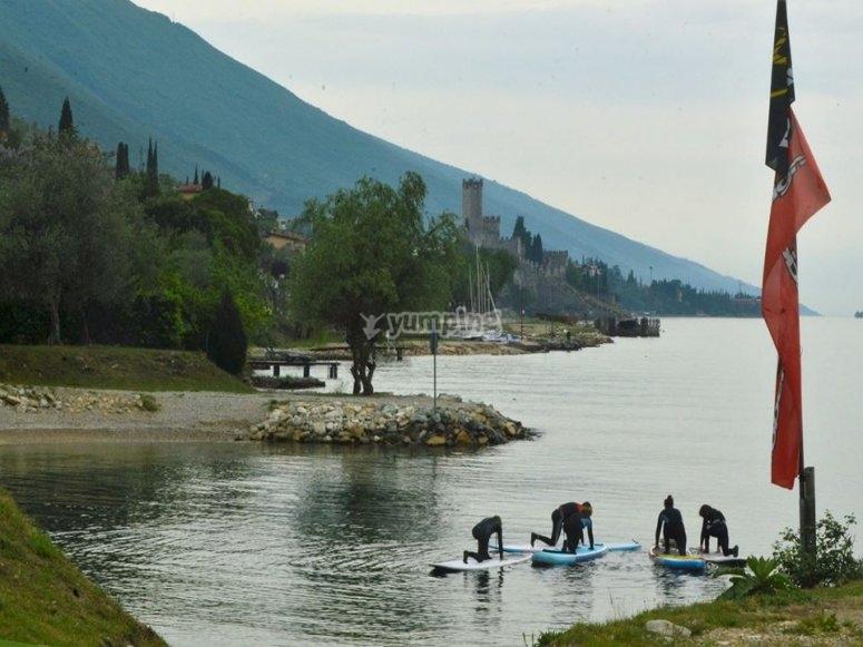 Corso di paddle surf