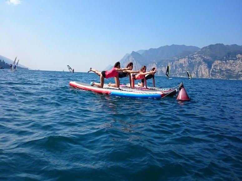 Yoga nel Lago di Garda