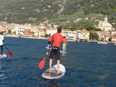 Corso di Paddle Surf di 1 ora a Malcesine