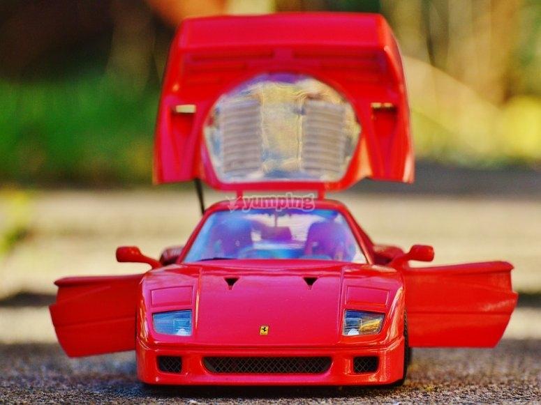 Ferrari mozzafiato