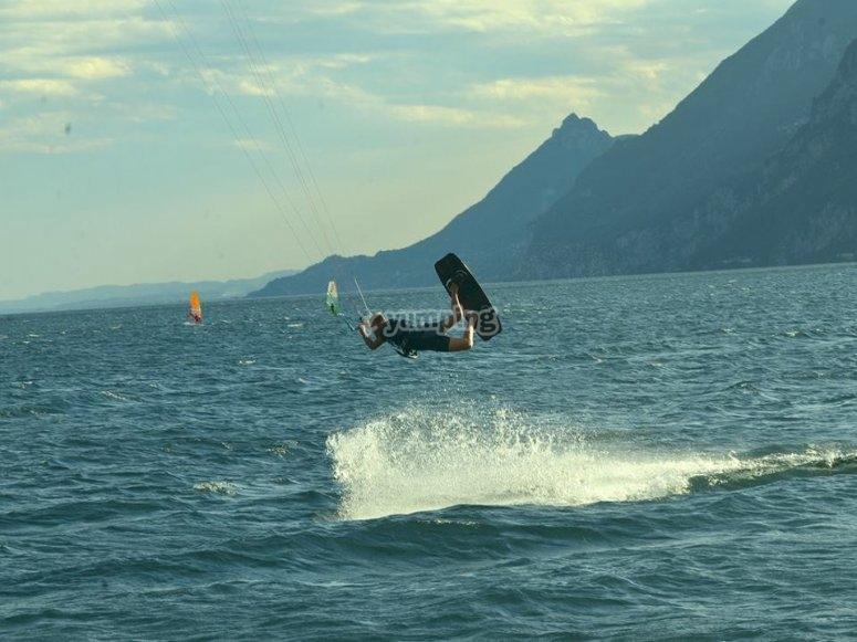 Acrobatics in the air