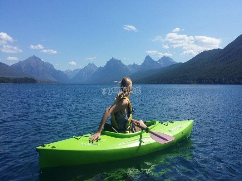 Vieni in canoa