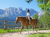 le passeggiate a cavallo sono per tutti