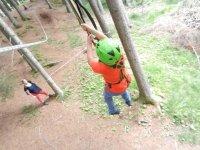 Percorso Lucky Luke per bambini al lago di Issengo