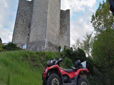 Quad 4h excursion (easy level), Valnerina