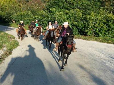 Passeggiata a cavallo (1h) in Camosciara