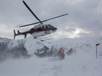 la neve non ferma i nostri elicotteri