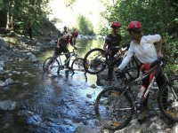 Mountain biking through Frido