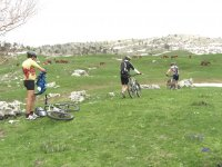Mountain biking in Piani di Pollino