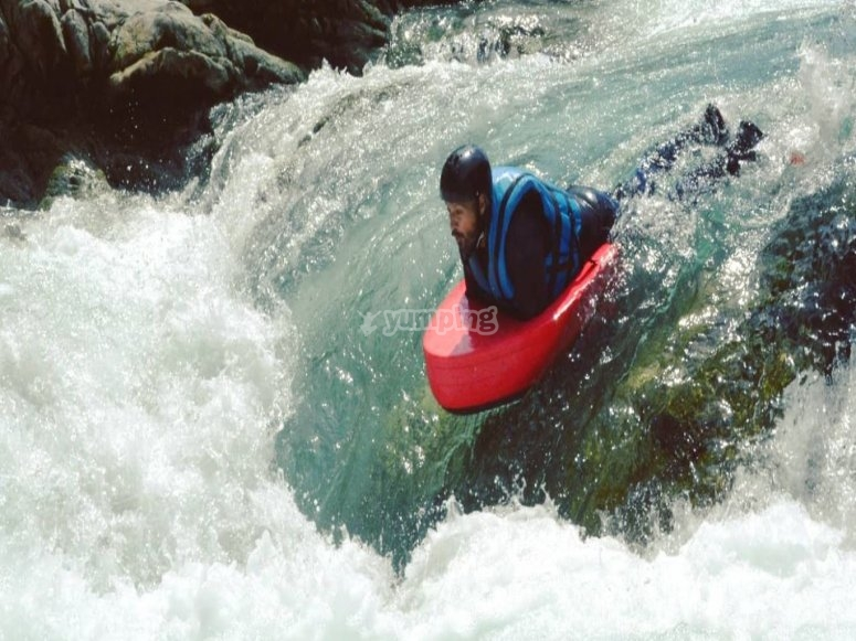 Descent on the River Sesia