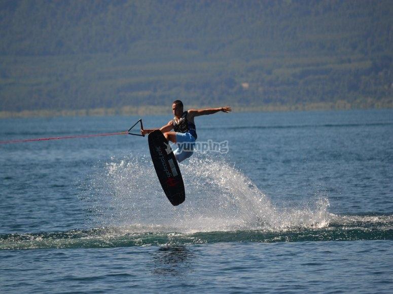 Acrobatics on the water