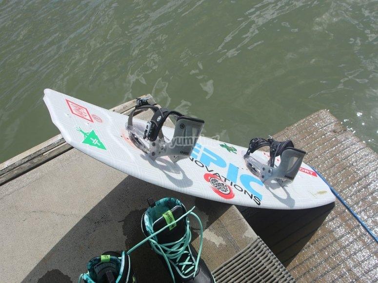 Wakeboard equipment