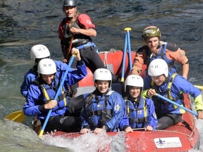 Rafting 10km Balmuccia-Varallo/ Sesia (14-17 anni)