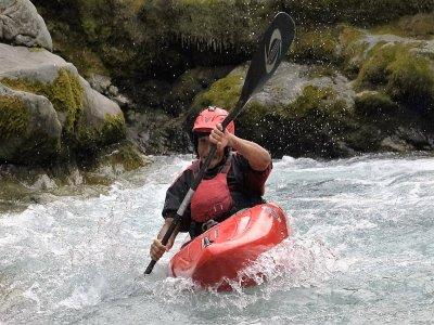 Kayak 4h sul fiume Sesia (lezione individuale)
