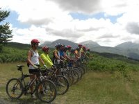 Mountain bike nel Pollino