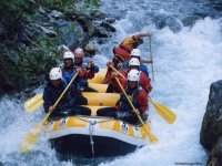 Discese rafting sul fiume Lao