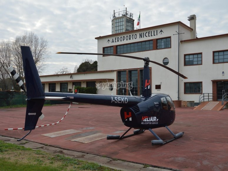 Uno dei nostri bellissimi elicotteri