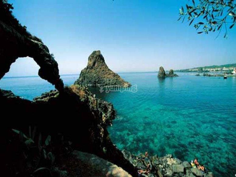 Sea of Catania
