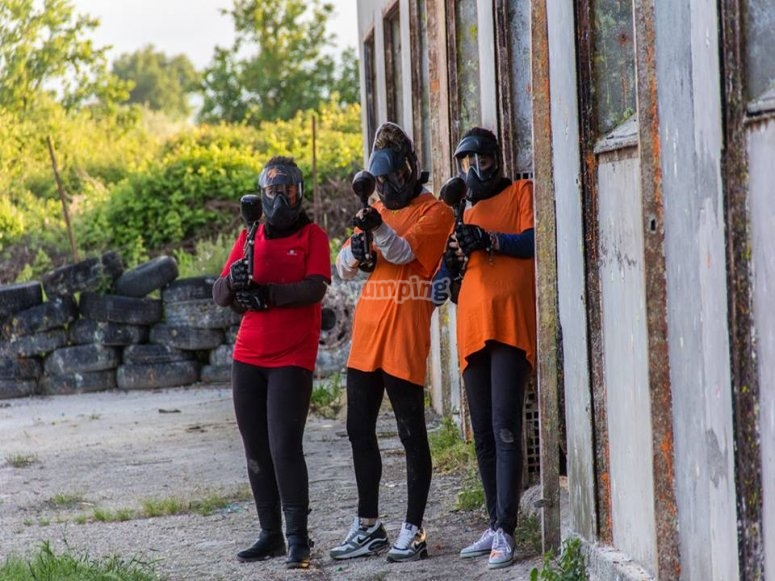 Squadra pronta all'azione