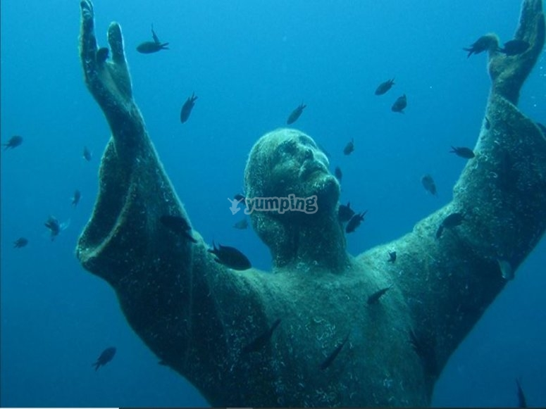 Wonderful Christ of the abyss