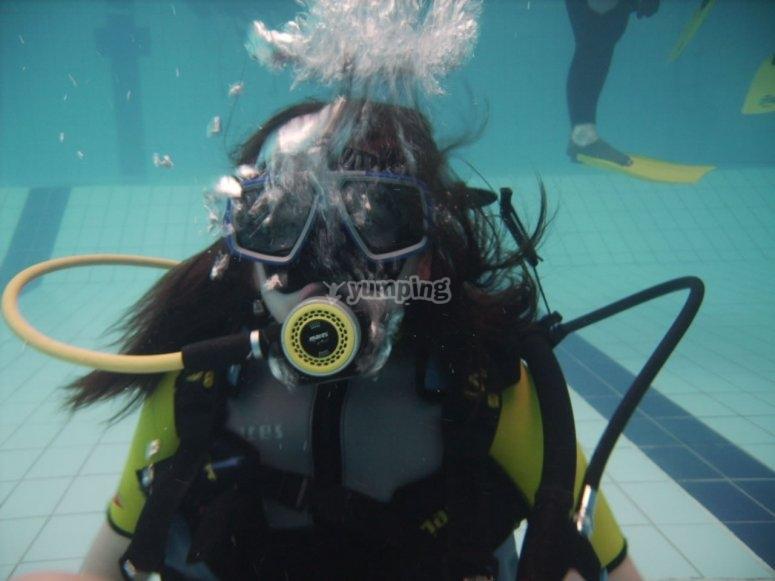 Lezione di immersione