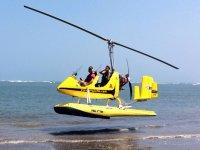 Volo in autogiro  (20 min) sul litorale romano