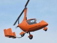 Volo in autogiro (60 min) sul litorale romano