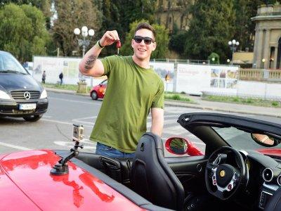 Tour di 24 km in Ferrari + pranzo di lusso Fiesole