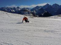 Discesa con gli sci