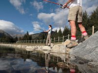 Fishing in the Valle d'Aosta lakes