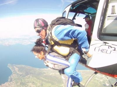 Lancio paracadute tandem 1 ora a Vicenza