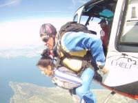 Lancio paracadute tandem 1 ora a Thiene