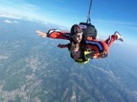 Lancio in paracadute tandem, Vicenza