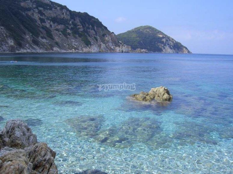 L'acqua limpida dell'Isola d'Elba