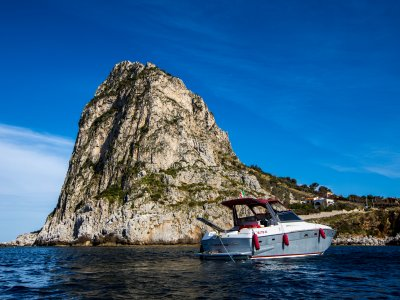 A day on a boat between Mondello and Sferracavallo
