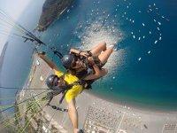 Volo in Parapendio con foto e video a Praia a Mare
