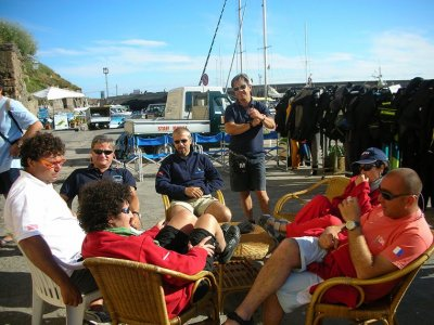 Open Water Diver course (first level) in Molise