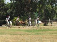 Esercitazioni a cavallo
