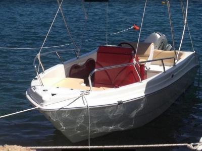 Boat rental 40 hp (4h), Le Castella