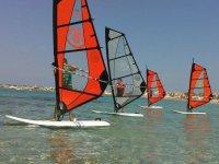 Noleggio windsurf sull'Isola delle Femmine 1ora30