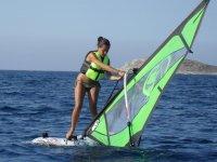 Noleggio windsurf  all'Isola del vento per 2 ore