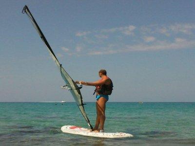 Noleggio windsurf all'Isola delle Femmine 2 ore 30