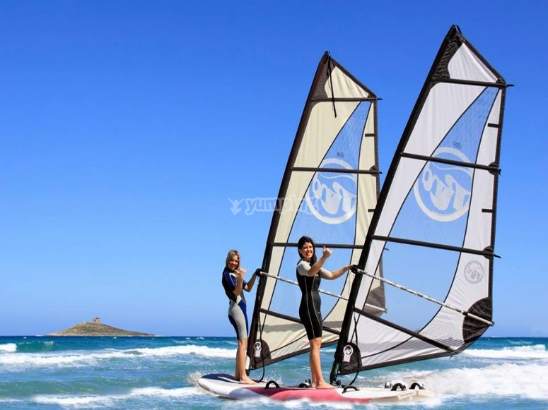 Rent our windsurfers!