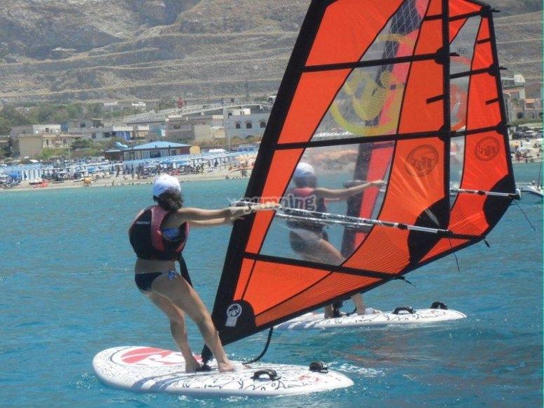 On windsurfing