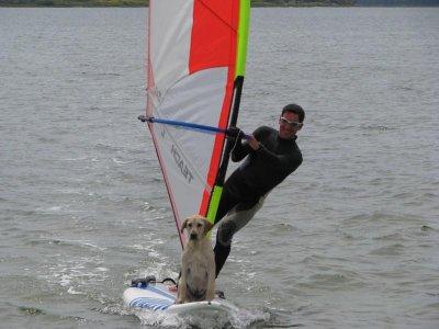 Lezione prova windsurf all'Isola delle Femmine1ora