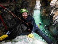Canyoning in Val Maor della durata di 3ore e mezzo