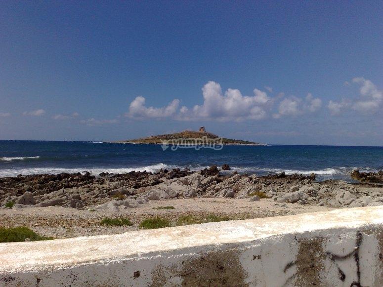 View of Isola delle Femmine